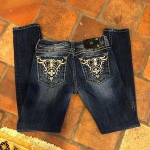 """Miss Me Skinny Jeans sz 28 inseam 33"""""""